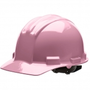 Bullard S51LPP Standard Hard Hat - Pinlock Suspension - Light Pink