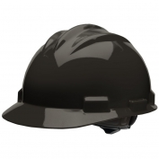Bullard S61BKR Standard Hard Hat - Ratchet Suspension - Black