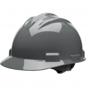 Bullard S61DGR Standard Hard Hat - Ratchet Suspension - Dove Grey