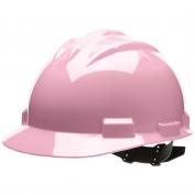 Bullard S61LPP Standard Hard Hat - Pinlock Suspension - Light Pink