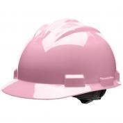 Bullard S61LPR Standard Hard Hat - Ratchet Suspension - Light Pink