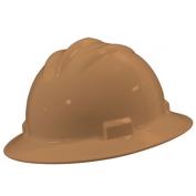 Bullard S71TNR Standard Full Brim Hard Hat - Ratchet Suspension - Tan