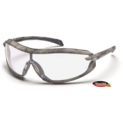 Pyramex XS3 Safety Glasses - Realtree Camo Frame - Clear Lens