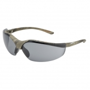 elvex sg 12g camo acer safety glasses camo frame gray lens