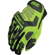 Mechanix SMP-91 Safety M-Pact Gloves - Yellow/Lime