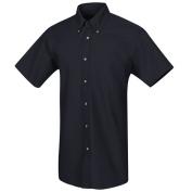 Red Kap Men\\\'s Poplin Dress Shirt - Short Sleeve - Navy
