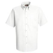 Red Kap Men\\\'s Easy Care Dress Shirt - Short Sleeve - White