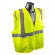 Radians SV2GM Economy Class 2 Mesh Safety Vest - Yellow/Lime