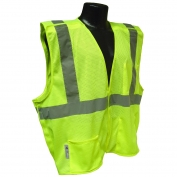 Radians SV4GM Economy Class 2 Breakaway Mesh Safety Vest - Yellow/Lime