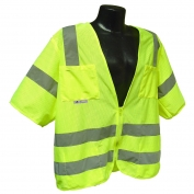 Radians SV83GM Standard Class 3 Mesh Safety Vest - Yellow/Lime