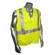 Radians SV97-2VGMFR Premium Mesh Modacrylic FR Class 2 Safety Vest - Yellow/Lime