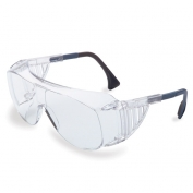 Uvex Ultra-Spec 2001 OTG Safety Glasses - Clear Frame - Clear Anti-Fog Lens