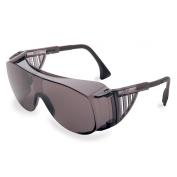 Uvex Ultra-Spec 2001 OTG Safety Glasses - Gray Frame - Gray Anti-Fog Lens