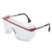 Uvex Astro OTG 3001 Safety Glasses - Patriot Frame - Clear Anti-Fog Lens
