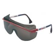 Uvex Astro OTG 3001 Safety Glasses - Patriot Frame - Gray Lens
