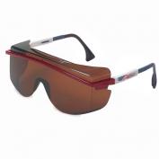 Uvex Astro OTG 3001 Safety Glasses - Patriot Frame - Copper Lens