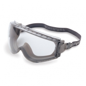 Uvex Stealth Goggles - Gray/Gray Frame - Clear Uvextreme Lens - Fabric Band