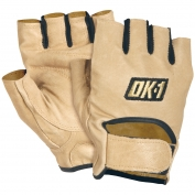 OK-1 WGS Premium Lifters Gloves - Tan