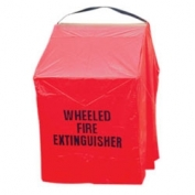 Badger 150 lb Red Wheeled Unit Fire Extinguisher Cover