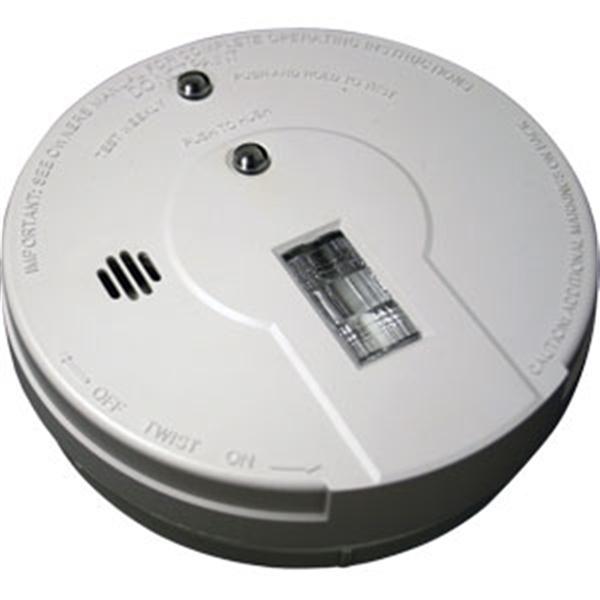kidde ionization smoke alarm w exit light dc. Black Bedroom Furniture Sets. Home Design Ideas
