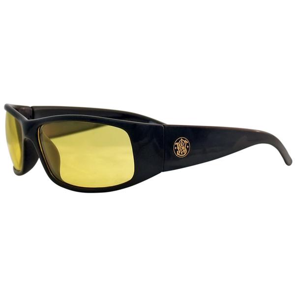 Elite Safety Glasses Black Frame Amber Anti-Fog Lens ...