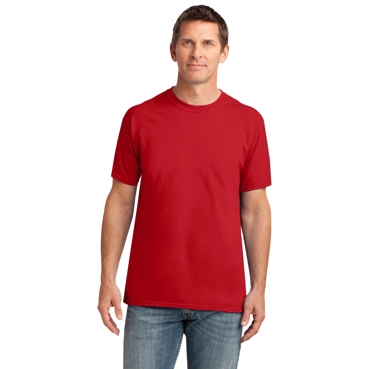 Gildan 42000 performance t shirt red for Gildan t shirts online
