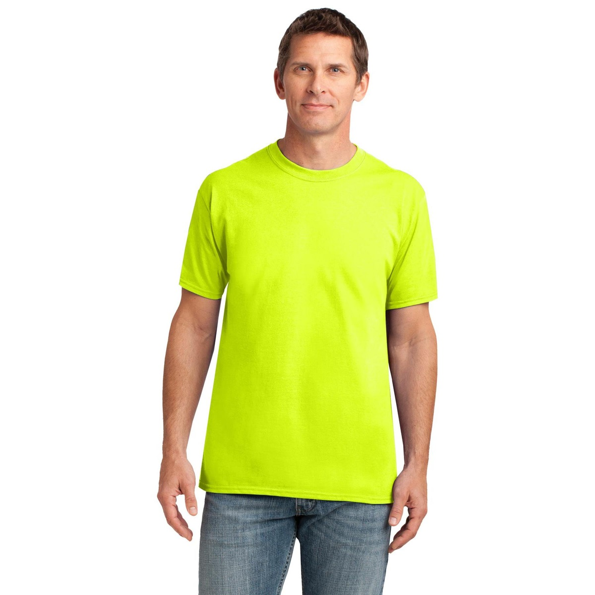 Gildan 42000 performance t shirt safety green for What is a performance t shirt