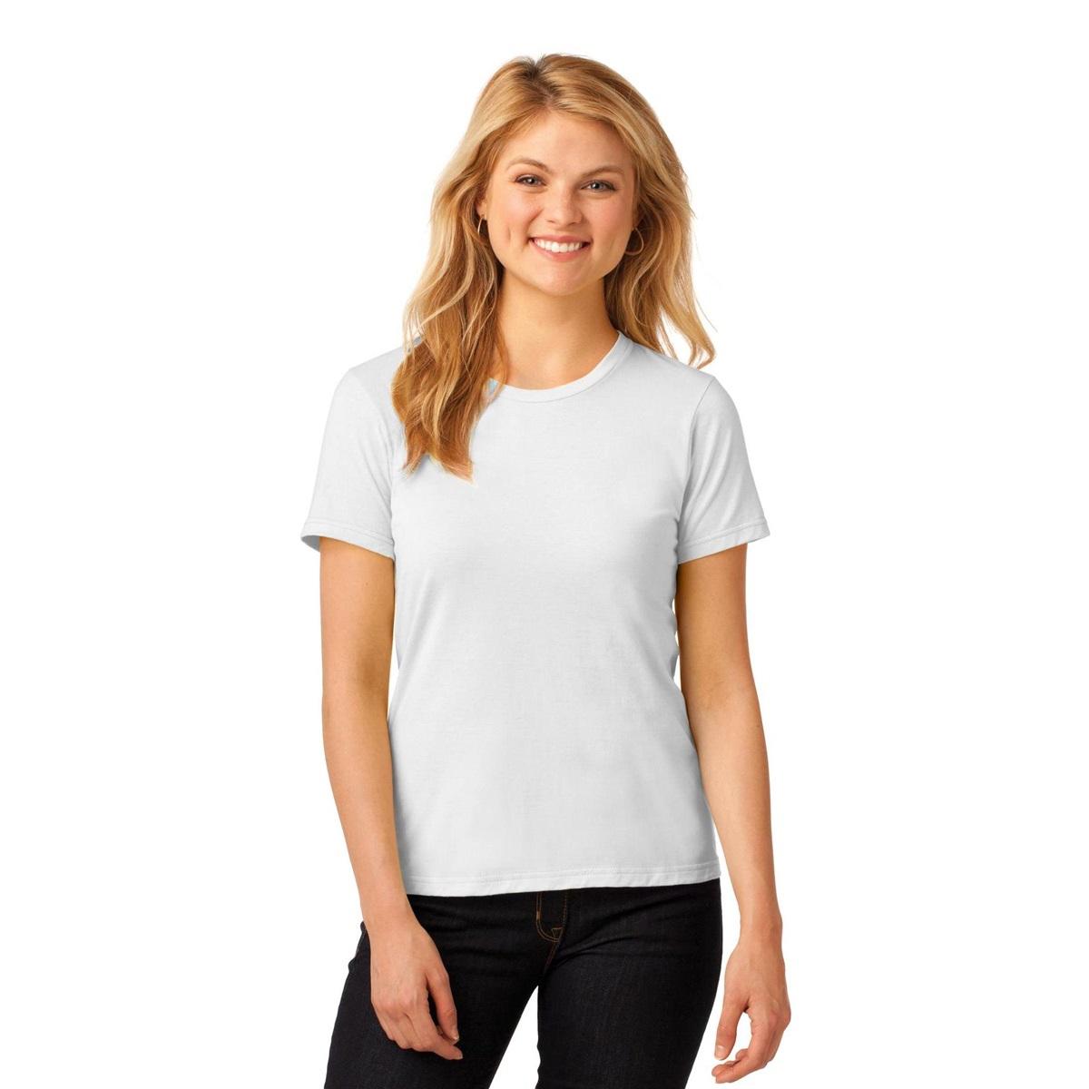 Anvil 880 ladies 100 ring spun cotton t shirt white for 100 ringspun cotton t shirt wholesale