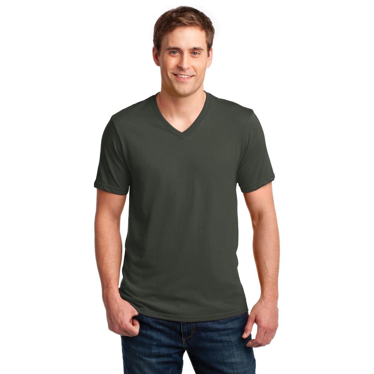 Anvil 982 100 ring spun cotton v neck t shirt city for 100 ringspun cotton t shirt wholesale