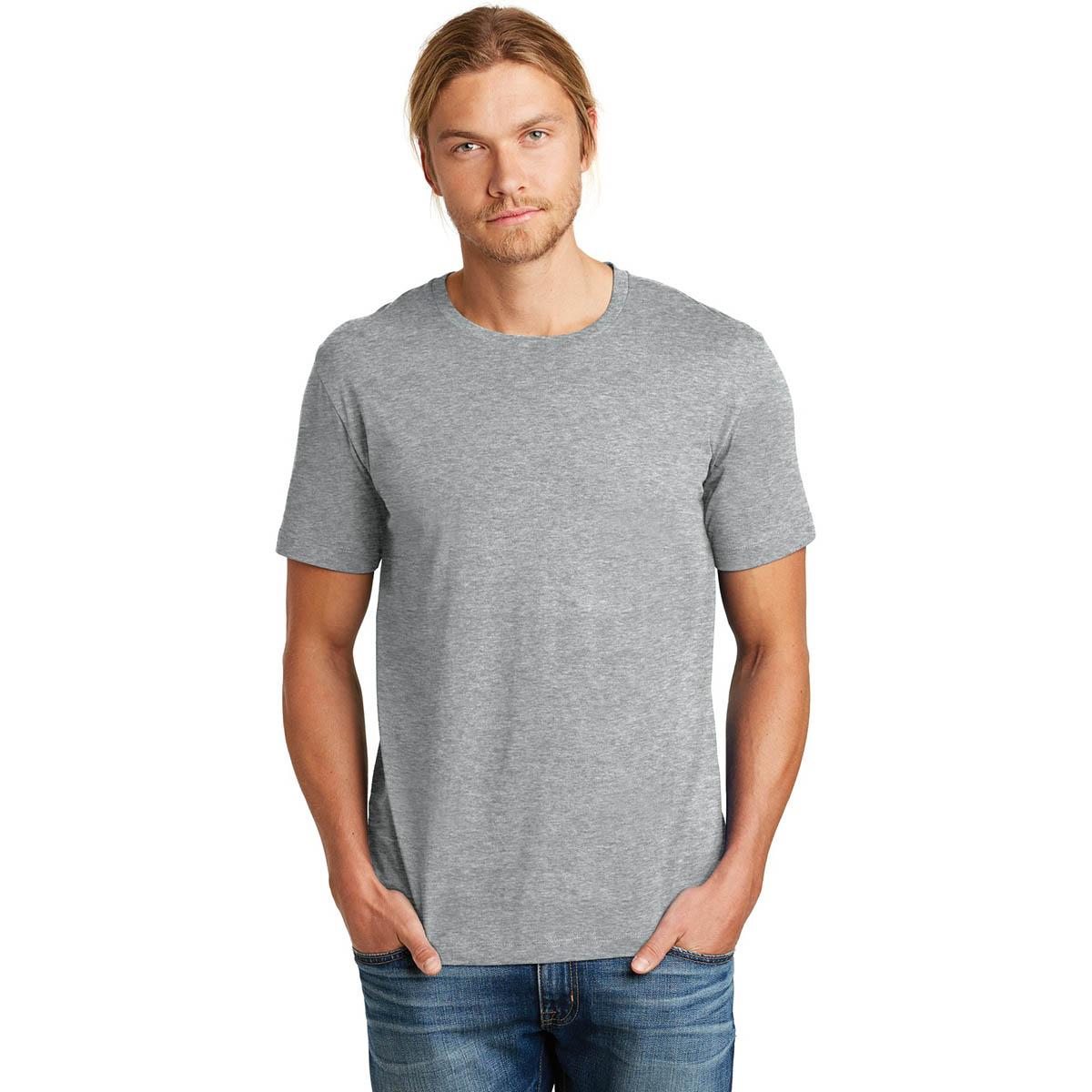 Alternative Aa9070 Heirloom Crew T Shirt Heather Grey
