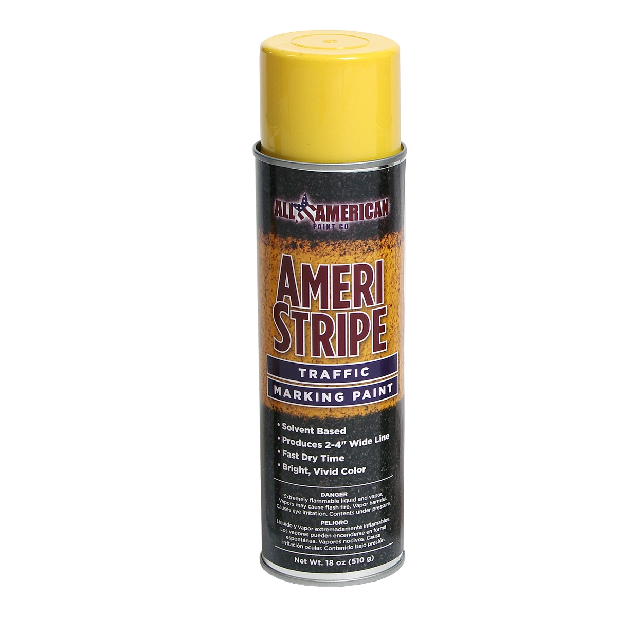 Ameri Stripe Traffic Marking Paint 18 Oz Yellow