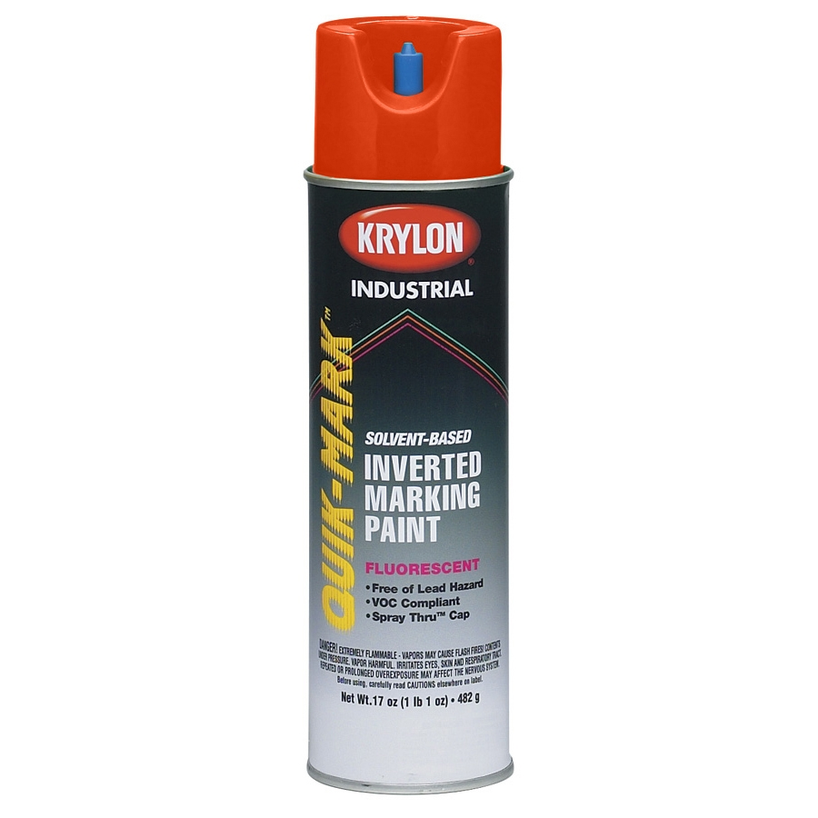 krylon at3701 quik mark solvent based inverted marking paint
