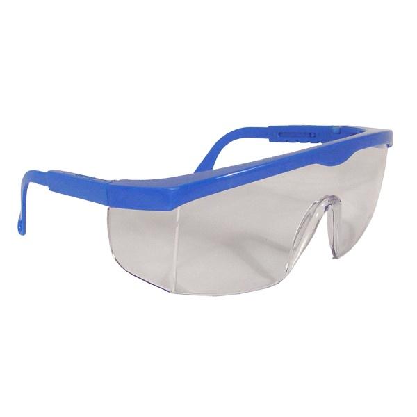 Radians Shark Safety Glasses - Blue Frame - Clear Lens ...