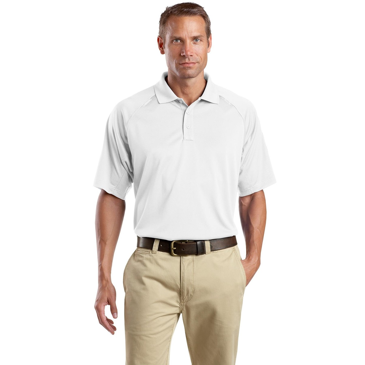 Cornerstone Cs410 Select Snag Proof Tactical Polo White