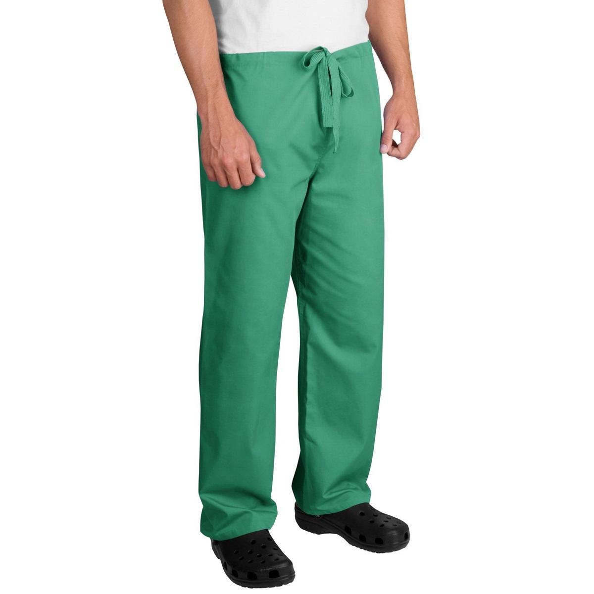 CornerStone CS502 Reversible Scrub Pants - Jade Green   FullSource.com