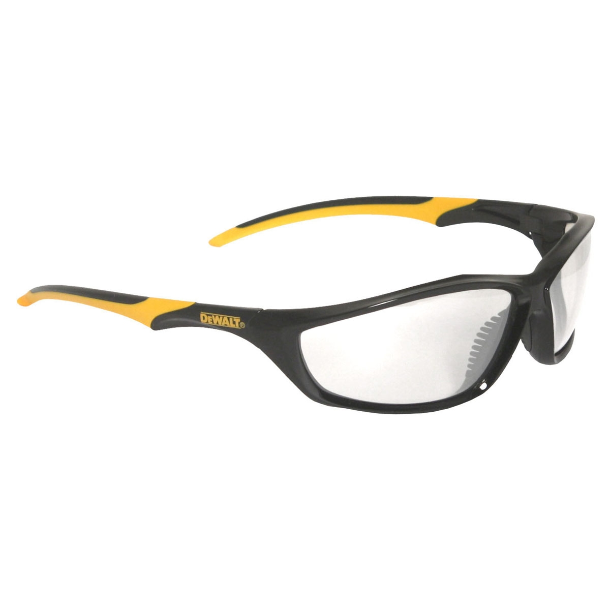 DeWalt DPG96-1 Router Safety Glasses - Black/Yellow Frame ...