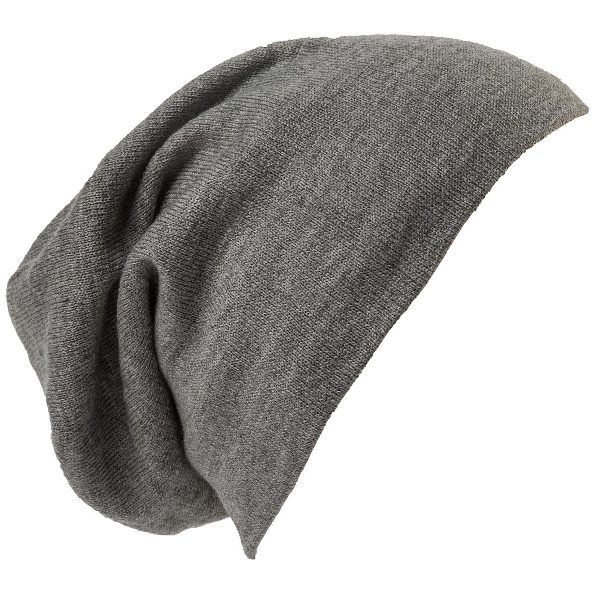 District Dt618 Slouch Beanie Light Grey Heather