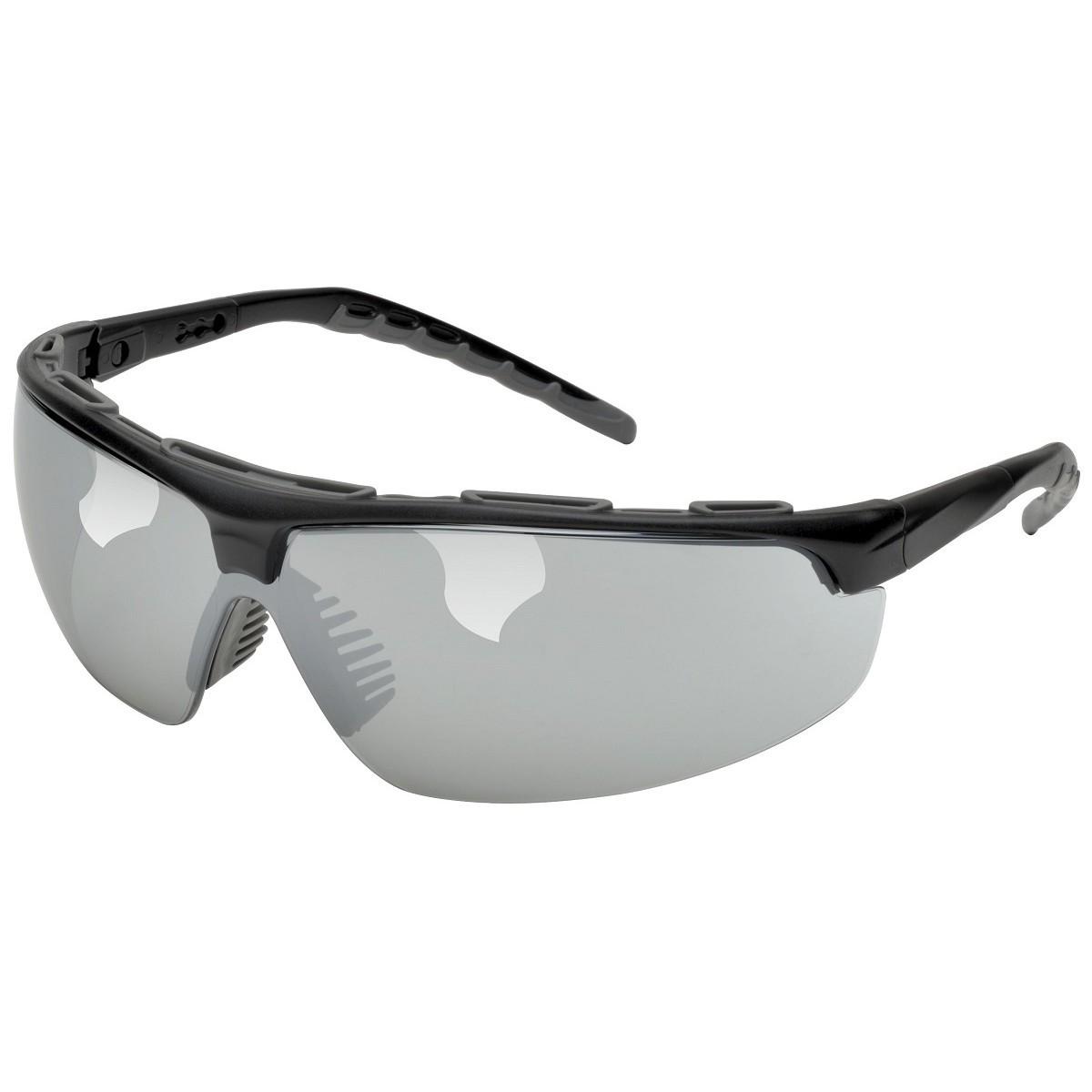 Black Frame Glasses Singapore : Elvex SG-56M Denali Safety Glasses - Black Frame - Silver ...