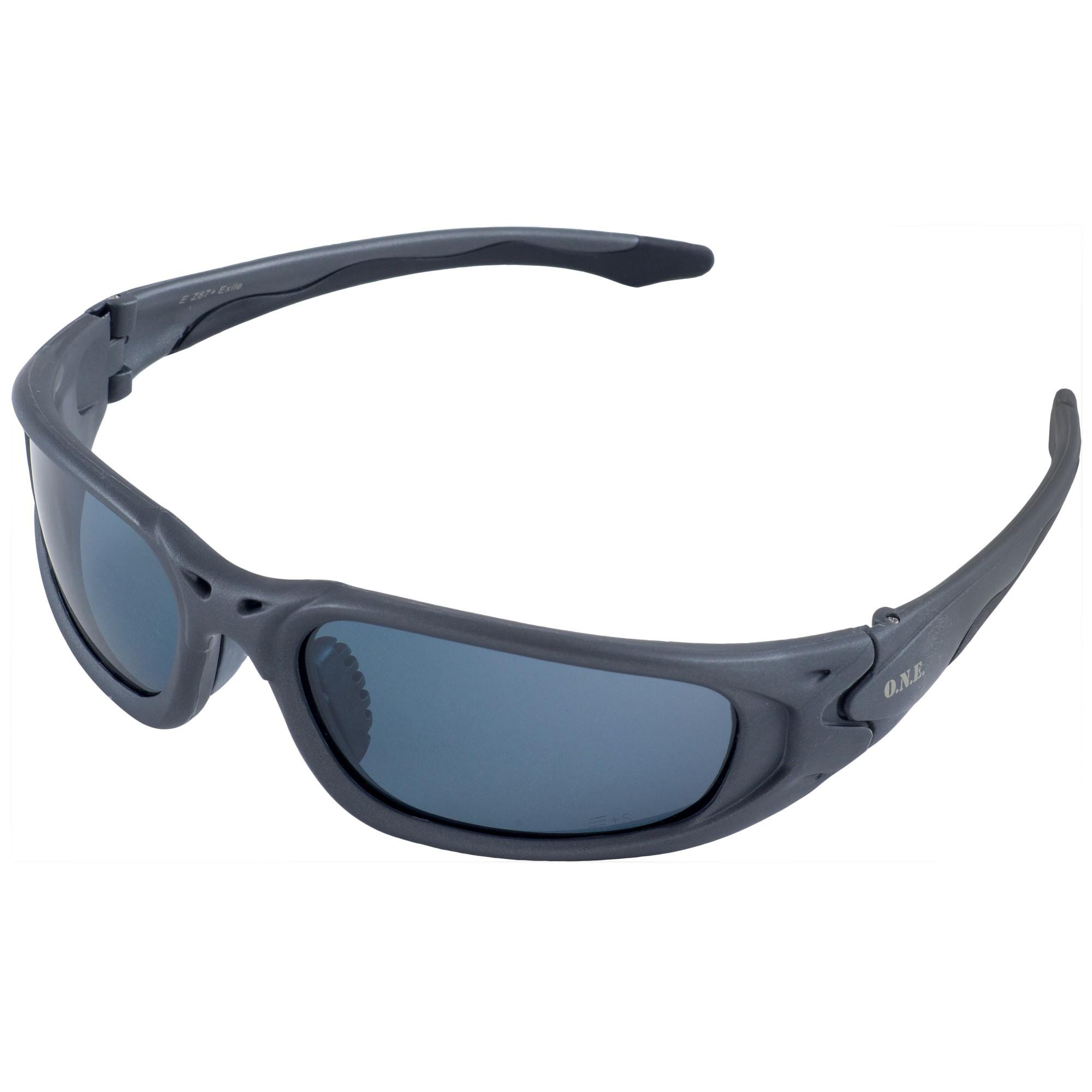 erb 18019 one nation exile safety glasses gray frame