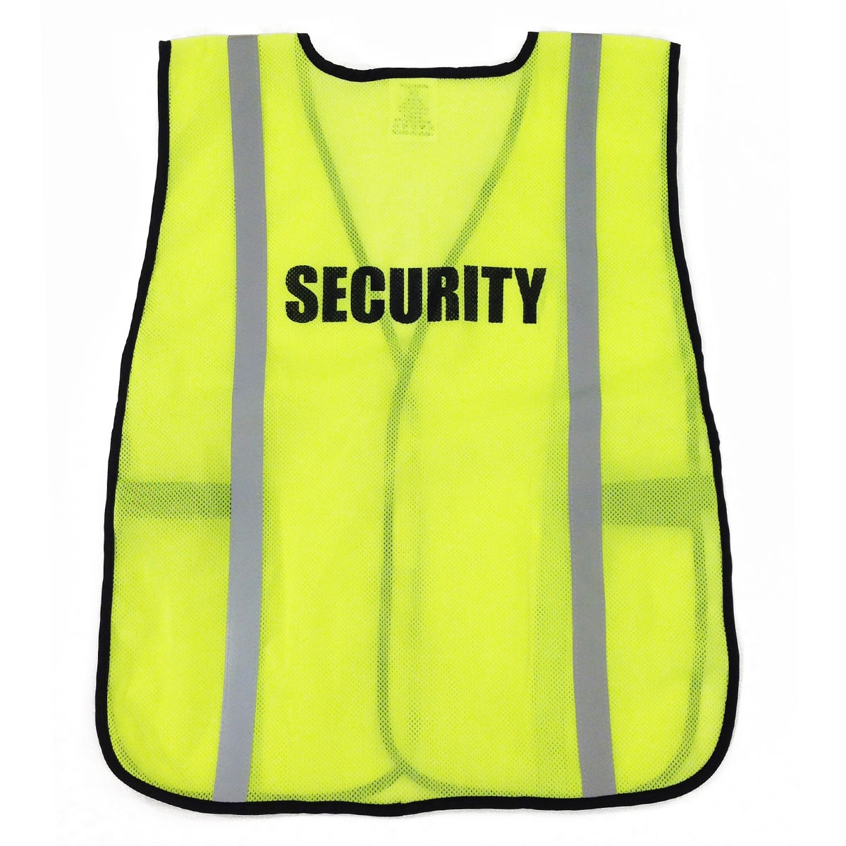 Ergodyne Pre Printed Security Safety Vest Yellow Lime