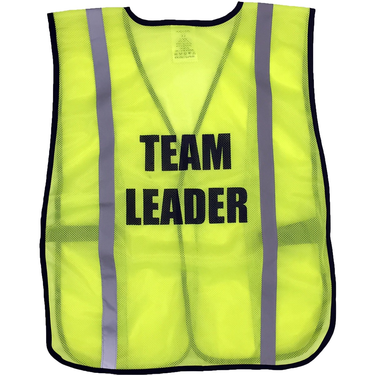 ergodyne pre printed team leader safety vest yellow lime ergo 8020hl team leader