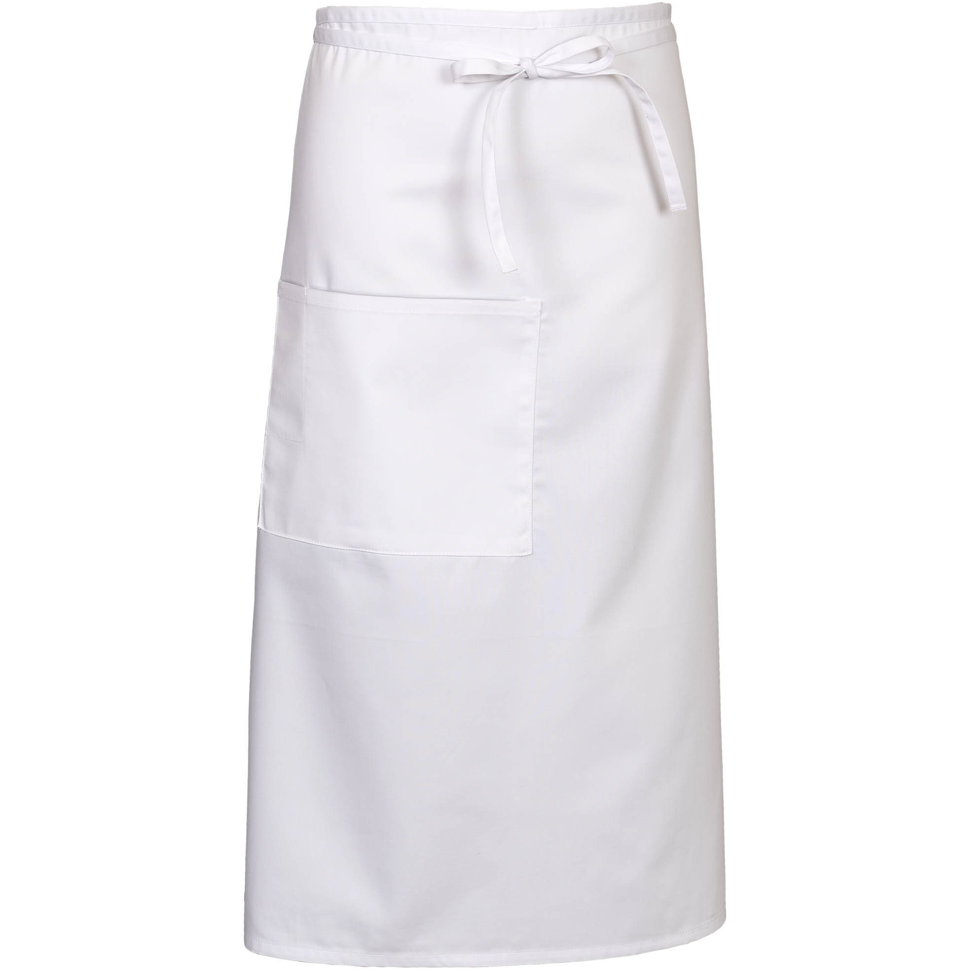White bistro apron - Fame E24 White