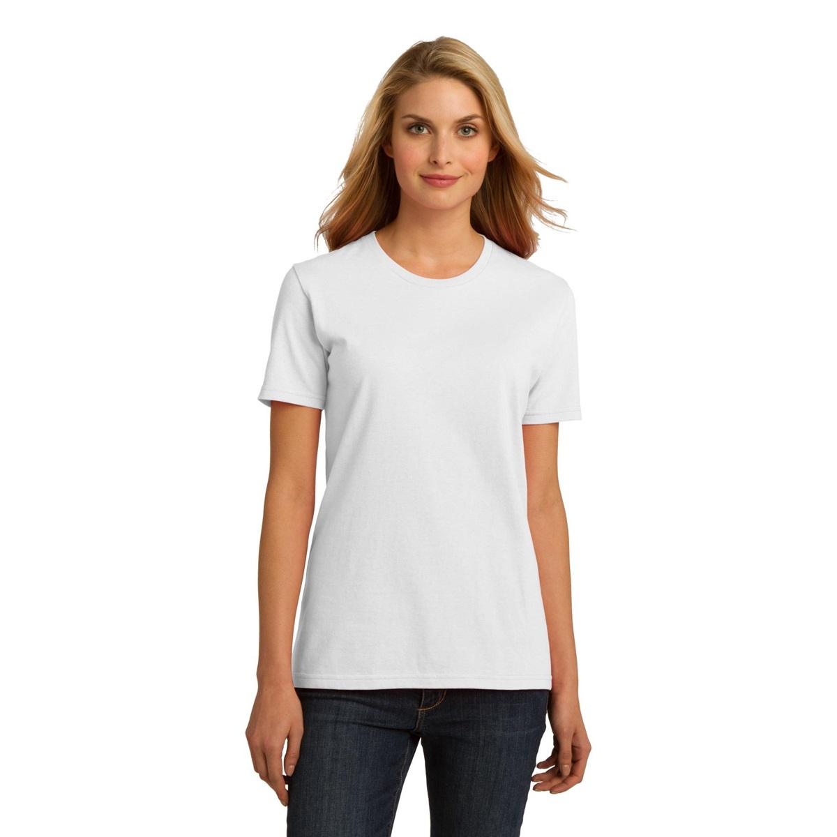 Port company lpc150org ladies essential 100 organic for 100 ringspun cotton t shirt wholesale