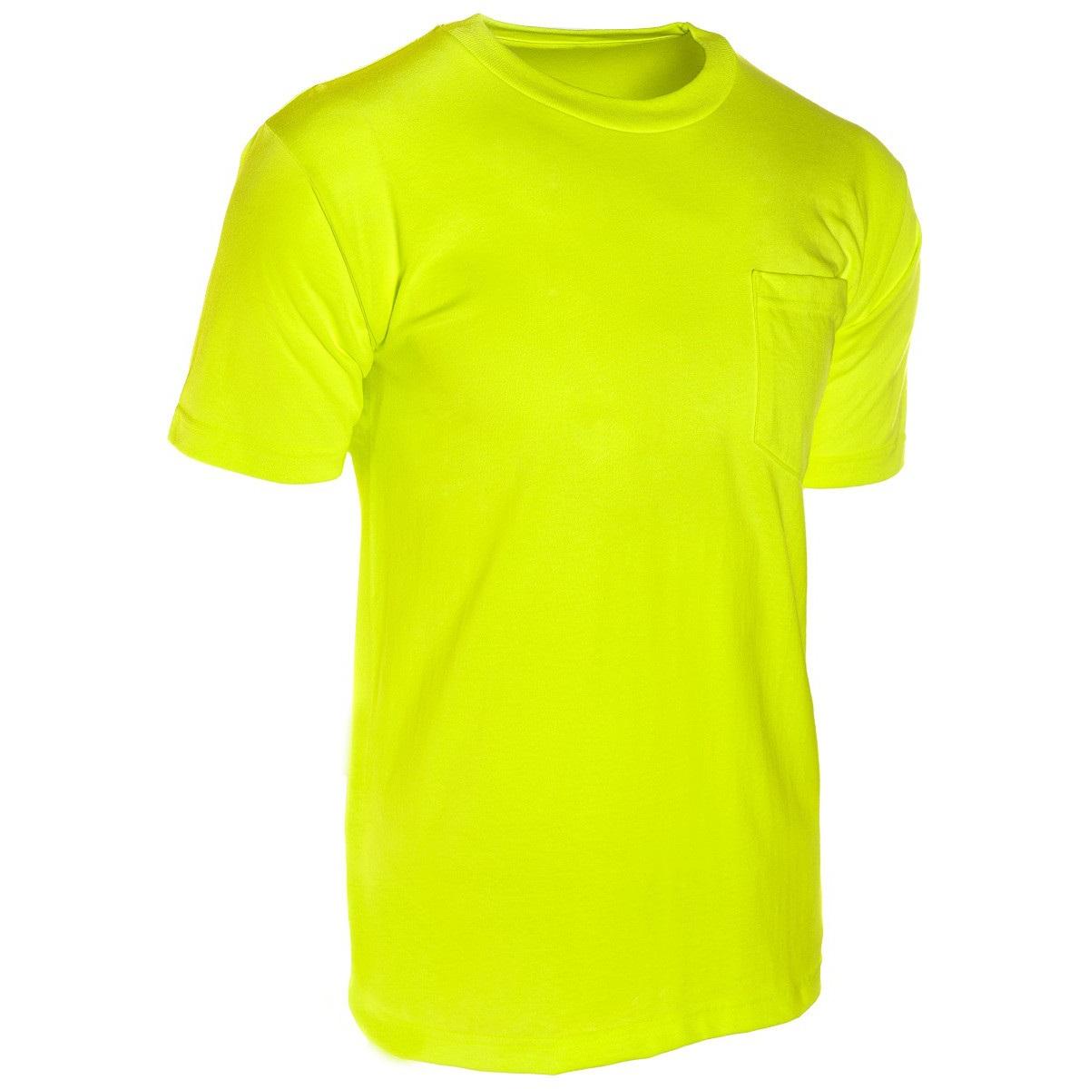 ML Kishigo 9124 Microfiber Short Sleeve T-Shirt - Yellow ...