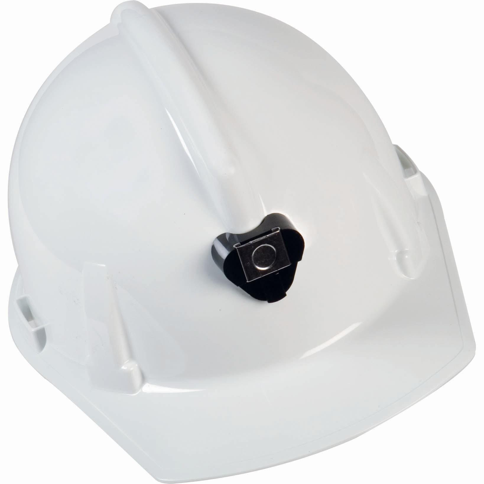 Msa 448914 Topgard Cap Style Hard Hat W Lamp Bracket 1