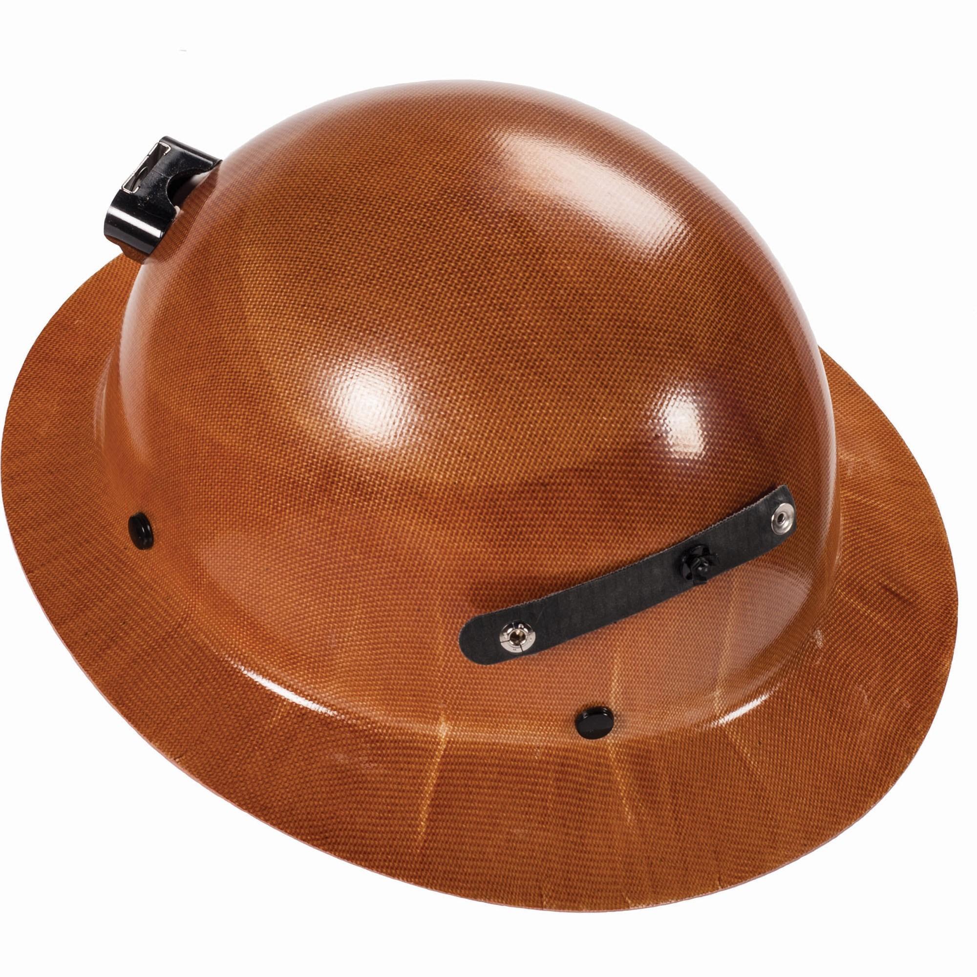 Msa 460389 Skullgard Full Brim Hard Hat W Lamp Bracket