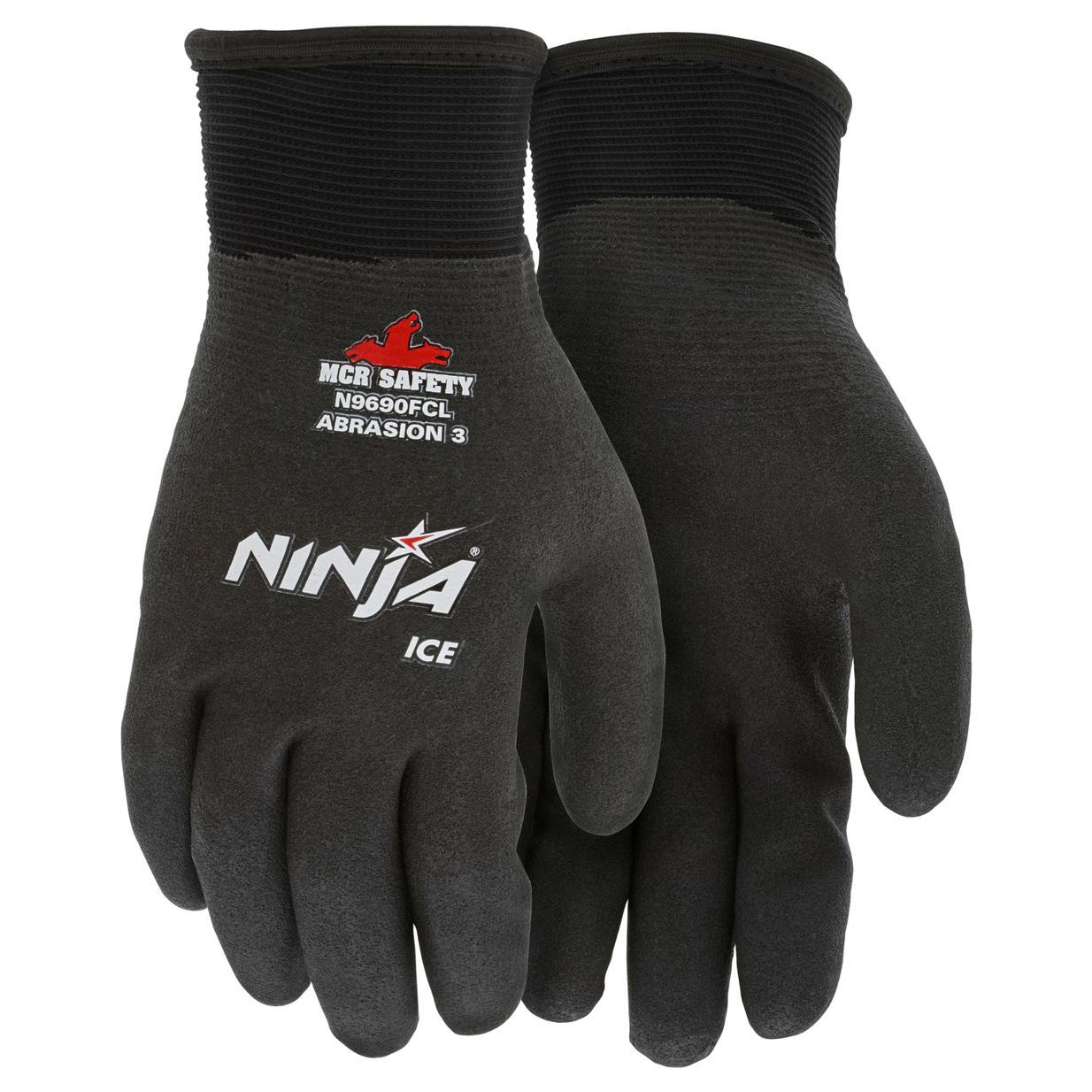 Memphis N9690fc Ninja Ice Hpt Gloves 15 Gauge Nylon