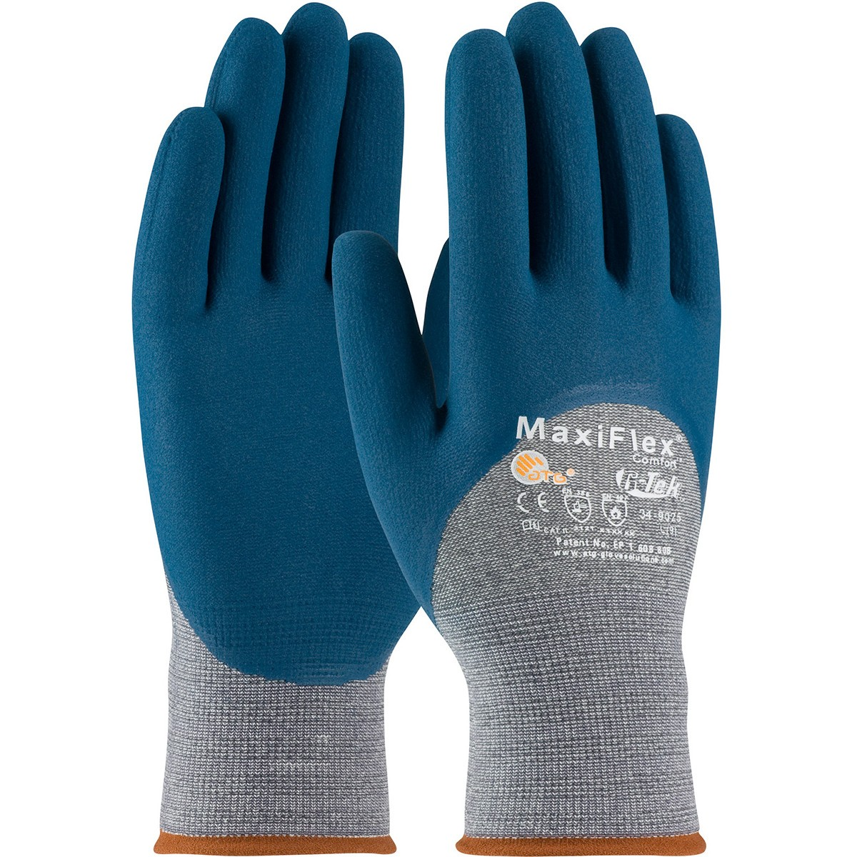 Pip 34 9025 Maxiflex Comfort Seamless Knit Cotton Nylon
