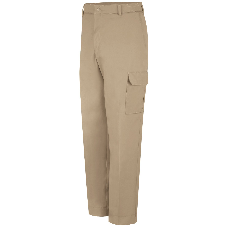 Red Kap Pt88 Men 39 S Industrial Cargo Pants Khaki