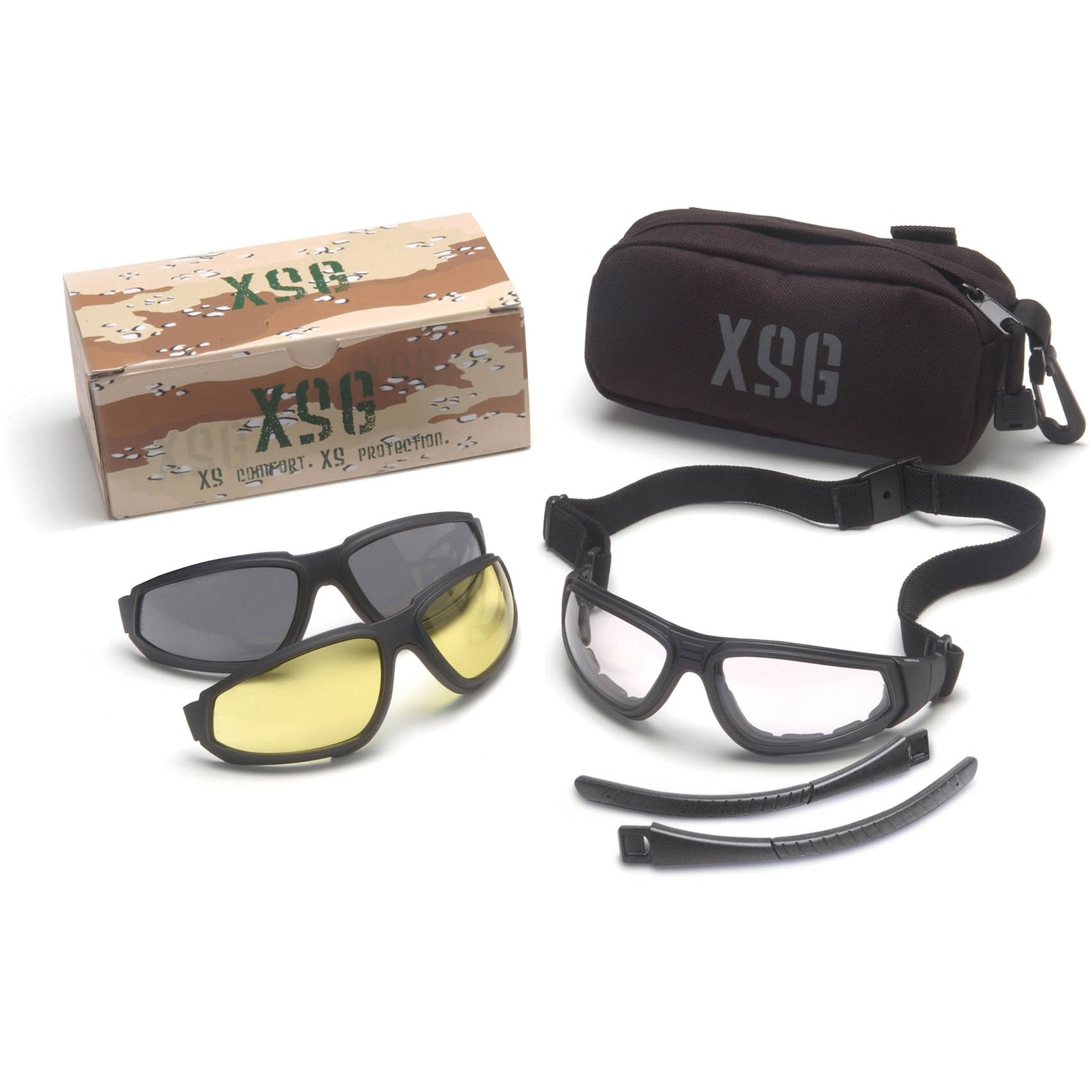 Eyeglass Frames With Interchangeable Lenses : Pyramex GB4010KIT XSG Glasses/Goggles Interchangeable Lens ...